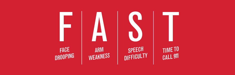 Acting F.A.S.T. - Face Drooping, Arm Weakness, Speech Difficulty, Time to call 911